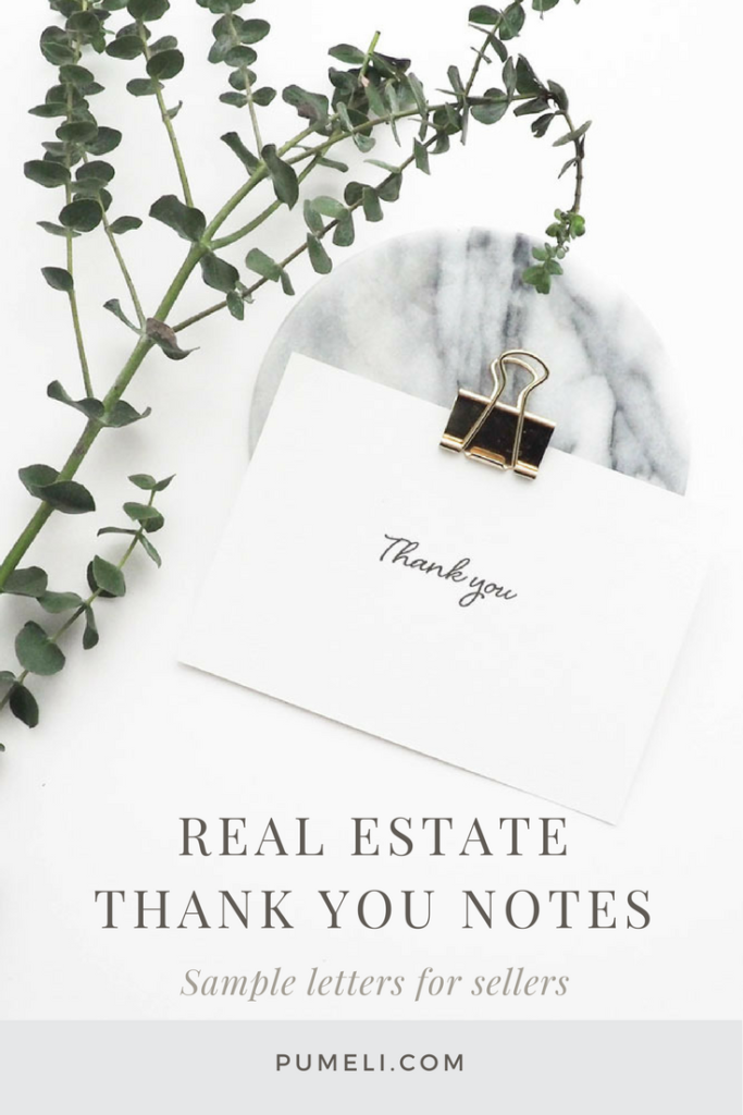 How To Write A Thank You Letter Er After Closing Pumeli