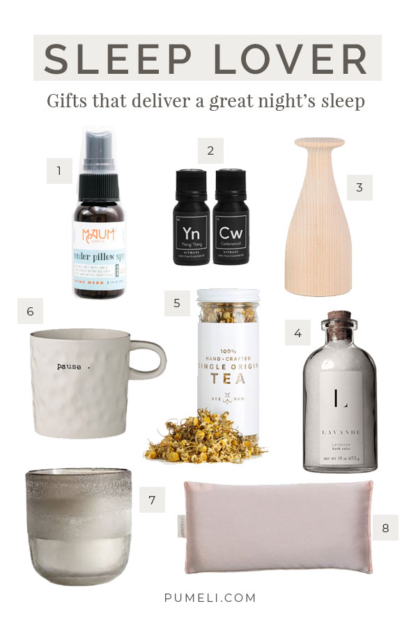 Holiday Gifts for Sleep Lovers & Insomniacs